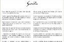 Lettera di presentazione Sunchic